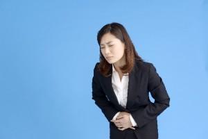 胃腸がきになる女性